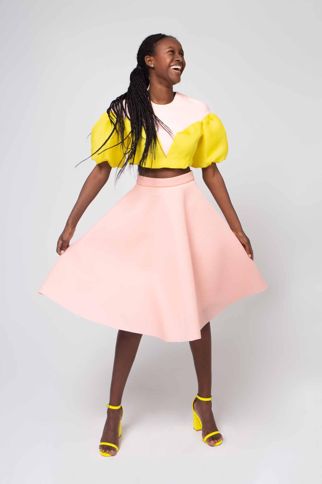 Lookbook 2020 pink and yellow