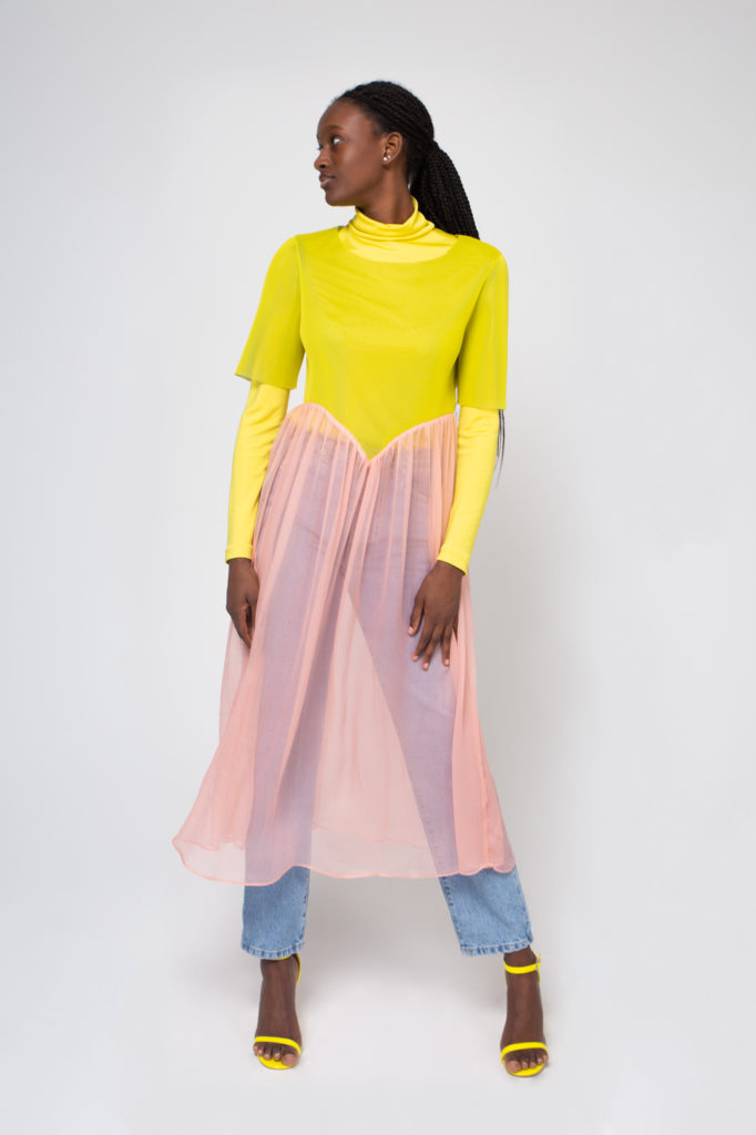 Lookbook 2020 yellow and pink front