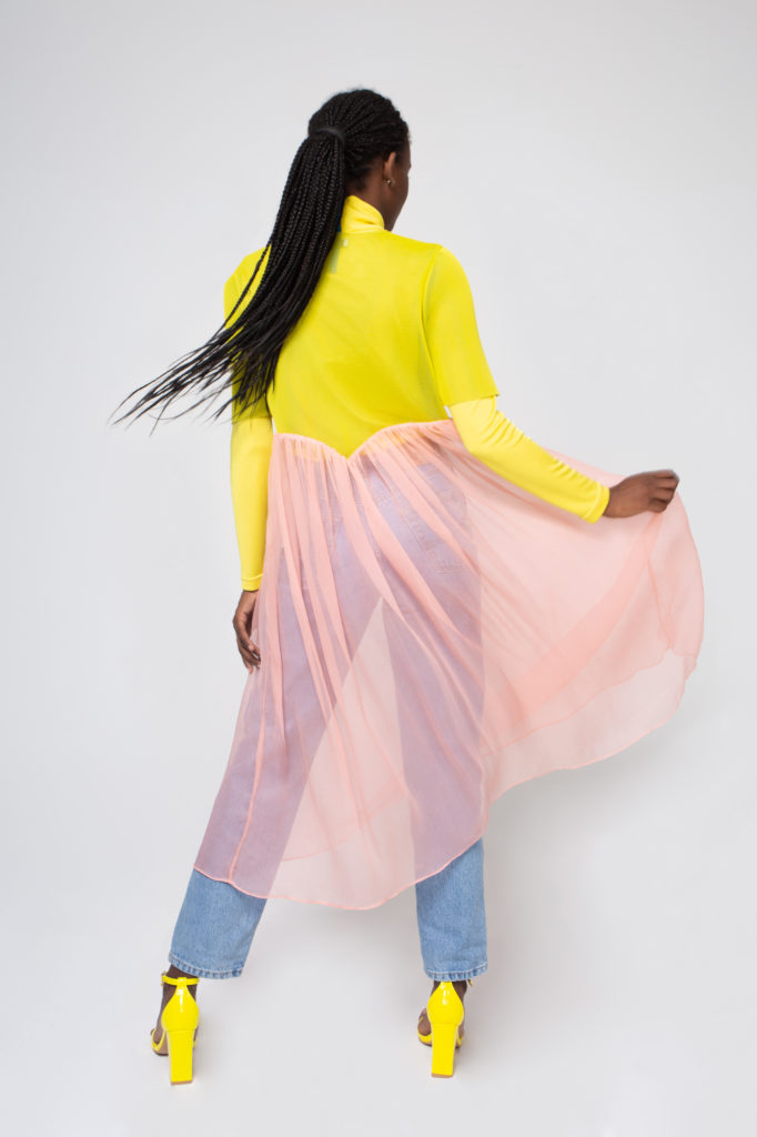 Lookbook 2020 yellow and pink back