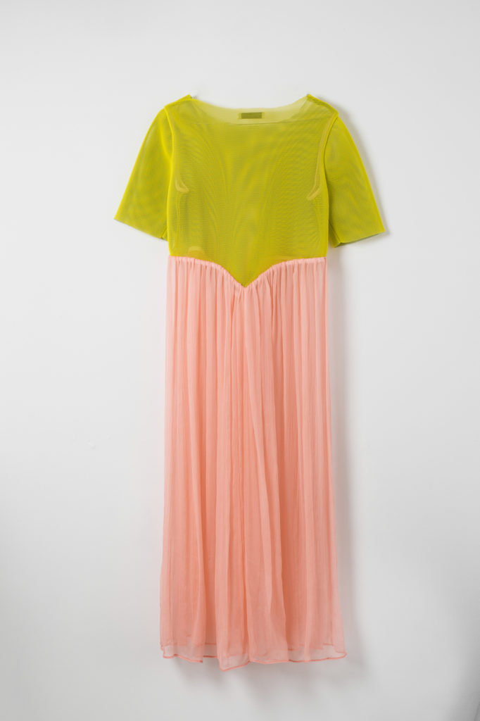 shop yellow and pink dress