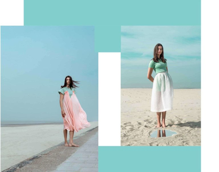 Ataman Label collection pink and white